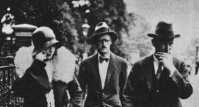 James Joyce y Nora Barnacle