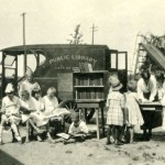 Biblioteca ambulante de Saint Paul, 1917.