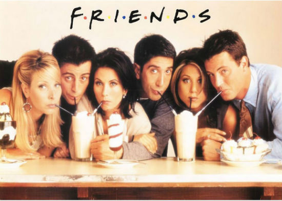 20 aniversario de friends